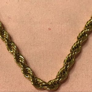 "Jewelry - Gold Filled Rope Chain 24"" Long"